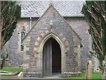 ST6149 : The south porch of Holy Trinity by Neil Owen