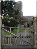 ST6149 : Entrance to Holy Trinity by Neil Owen