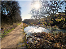 SD7909 : The End of the Canal by David Dixon