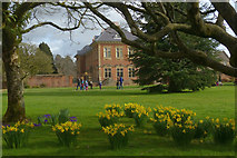 ST2885 : Early spring, Tredegar House Gardens by Robin Drayton