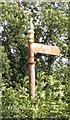 NZ1820 : Old Direction Sign - Signpost by Milestone Society