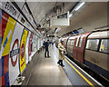 TQ2982 : Platform, Euston Underground Station by Rossographer
