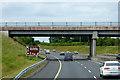 N8307 : Bridge over the M9 near Old Kilcullen by David Dixon