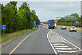 N8414 : Sliproad from the M9 onto the M7 at Junction 11 by David Dixon