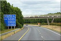 N8516 : Bridge over the northbound M7 by David Dixon