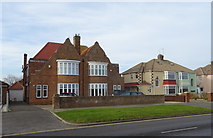 NZ6124 : Houses on the Coast Road (A1085), Redcar by JThomas