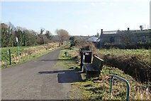 J0633 : The Newry Canal cycle and walking path south of the Pointed Bridge at Jerrettspass by Eric Jones