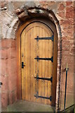 NS5036 : Door to Barr Castle, Galston by Billy McCrorie
