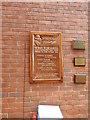TG1202 : Wymondham Police WW2 memorial by Adrian S Pye