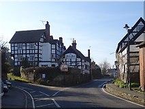 SO3958 : The New Inn, Pembridge by Richard Webb
