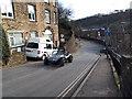 SD9927 : Sports car, Birchcliffe Road, Hebden Bridge by Stephen Craven