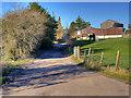 SD6120 : Lower House Fold off Trigg Lane by David Dixon