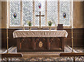 TM0178 : St Nicholas, Thelnetham - Sanctuary by John Salmon