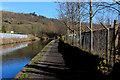 SE0125 : Rochdale Canal outside Business Park, Eastern Mytholmroyd by Chris Heaton