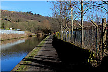 SE0125 : Rochdale Canal outside Business Park, Eastern Mytholmroyd by Chris Heaton