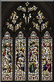 TF0639 : East window, St Denys church, Aswarby by Julian P Guffogg