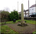 ST0888 : Grade II listed Crawshay Obelisk in Treforest by Jaggery