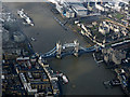 TQ3380 : Tower Bridge from the air by Thomas Nugent