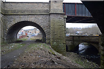 SE1537 : Bridges and Beck in Shipley by habiloid