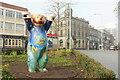 TQ4378 : Berlin or Buddy Bear, Woolwich by Derek Harper