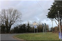 SP3154 : Wellesbourne Road at the junction with Fosse Way by David Howard