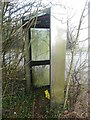 SP9803 : Former KX300 Telephone Kiosk at Orchard Leigh by David Hillas