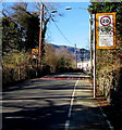 SO0901 : Start of the 20 zone, Commercial Street, Bedlinog by Jaggery