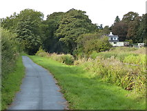 SD4760 : Lancaster Canal towpath near Lancaster by Mat Fascione