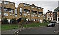 TQ3370 : Maisonettes, Palace Square, Crystal Palace, south London by Robin Stott