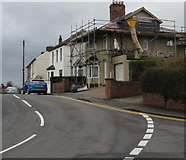 ST3090 : Pillmawr Road house scaffolding, Malpas, Newport by Jaggery