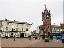 NZ6025 : Redcar town clock by Malc McDonald