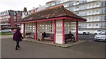 TQ7407 : Shelter on the Promenade by John P Reeves