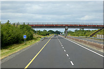 S6663 : Bridge over the M9, County Carlow by David Dixon