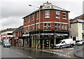 SO0702 : Scaffolding on Victoria Buildings, Troedyrhiw by Jaggery