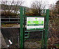 SO0603 : No Fly-Tipping notice in Pentrebach by Jaggery