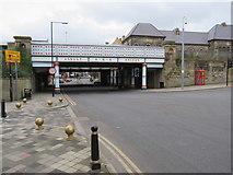 NZ4920 : Railway bridge, Middlesbrough by Malc McDonald