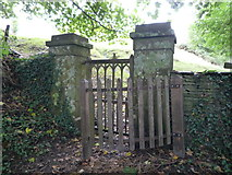 SO2160 : Entrance Gate to St. Mary's Church (New Radnor) by Fabian Musto