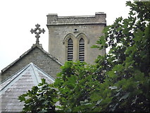 SO2160 : St. Mary's Church (Close-Up of the Bell Tower   New Radnor) by Fabian Musto