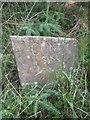 NY5790 : Old Bridge Marker by Milestone Society