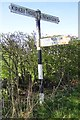 NY6428 : Old Direction Sign - Signpost by Milestone Society