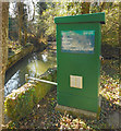 TQ2593 : Whetstone Flood Warning Site by Des Blenkinsopp