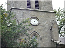 SO2160 : Clock on St. Mary's Church (Bell Tower   New Radnor) by Fabian Musto