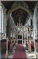 TF4024 : Screen, St Mary Magdalene church, Gedney by Julian P Guffogg