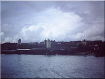 NZ3668 : North Shields fish quay, 1982 by John Stephen