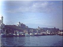 NZ3668 : North Shield fish quay 1982 by John Stephen