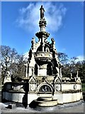 NS5766 : The Stewart Memorial Fountain by Raibeart MacAoidh