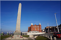SD3036 : War Memorial near North Pier, Blackpool by Ian S