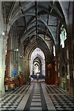 SO8554 : South Aisle of Worcester Cathedral by Philip Halling
