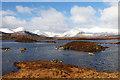 NN3148 : Lochan na h-Achlaise, Rannoch Moor by Robin Drayton