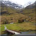 NN1356 : Achnambeithach cottage, Glen Coe by Robin Drayton
